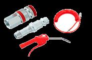 JWL koblinger og trykluftpistoler